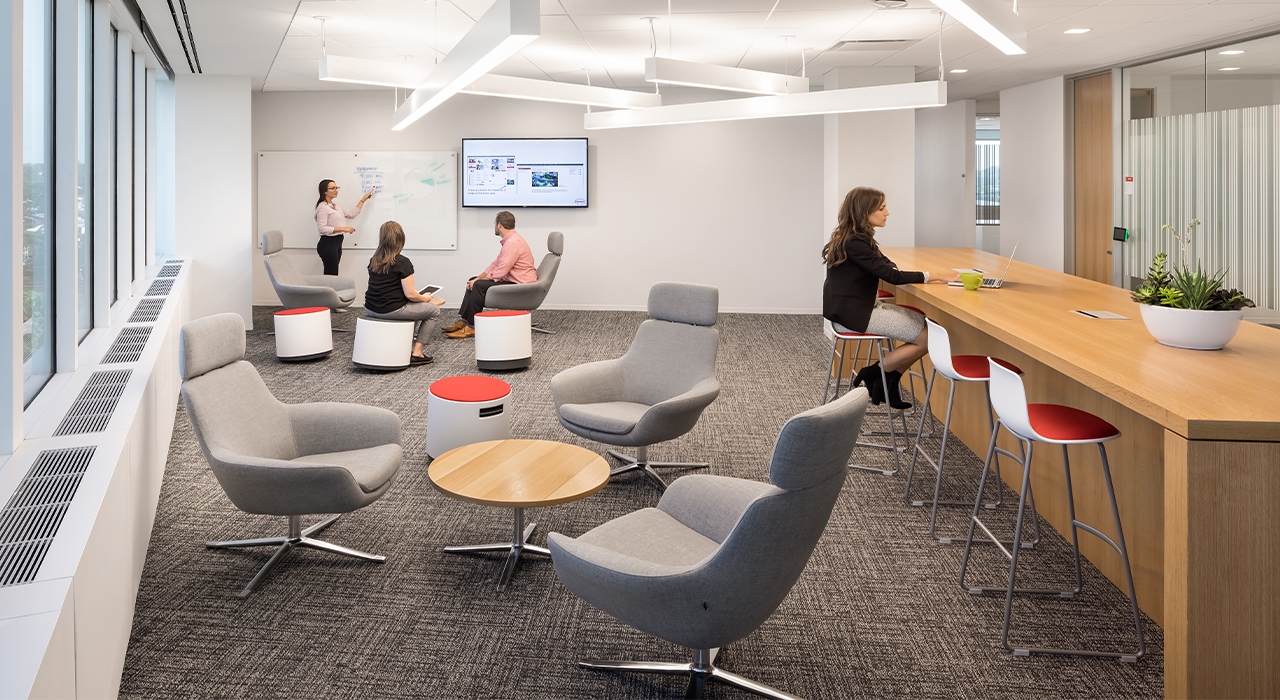 Henkel North American Consumer Products Division Headquarters common area