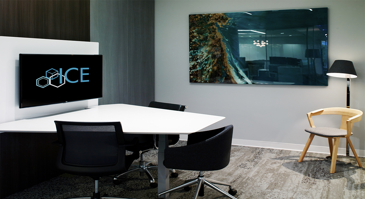 Innovative Commercial Environments conference room