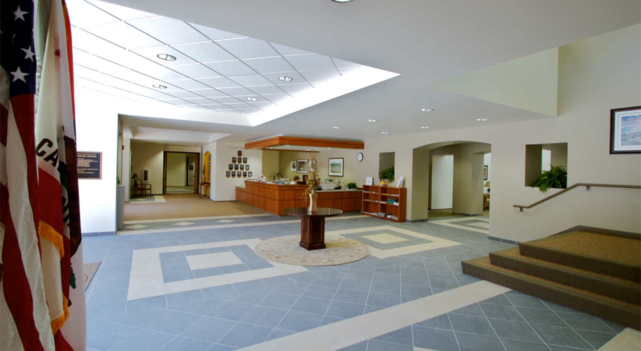 Capistrano Unified School District building lobby