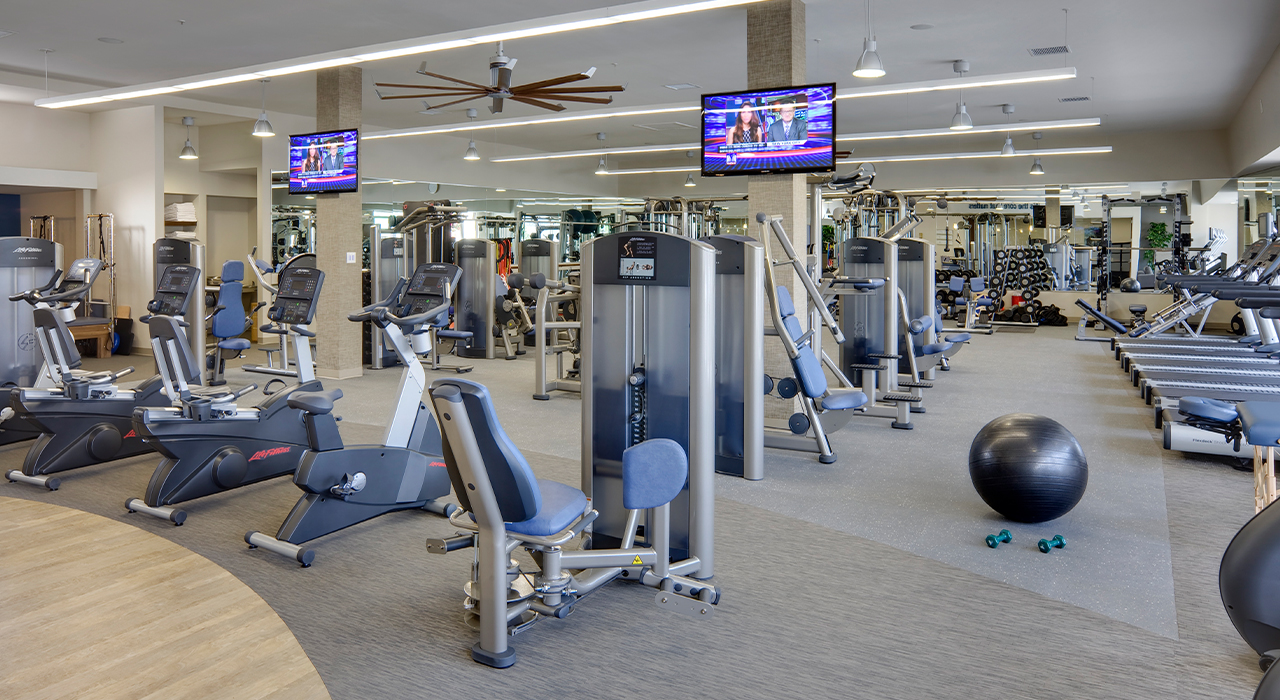 CORE F.I.T. fitness room