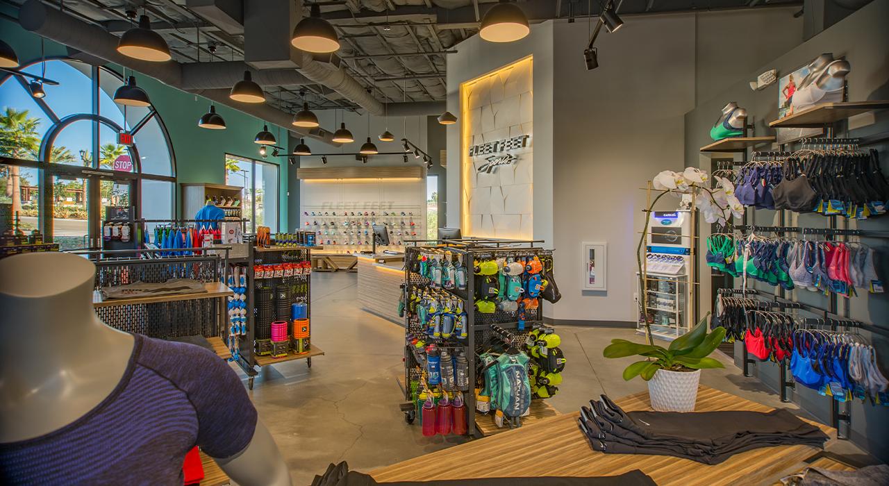 Fleet Feet retail store