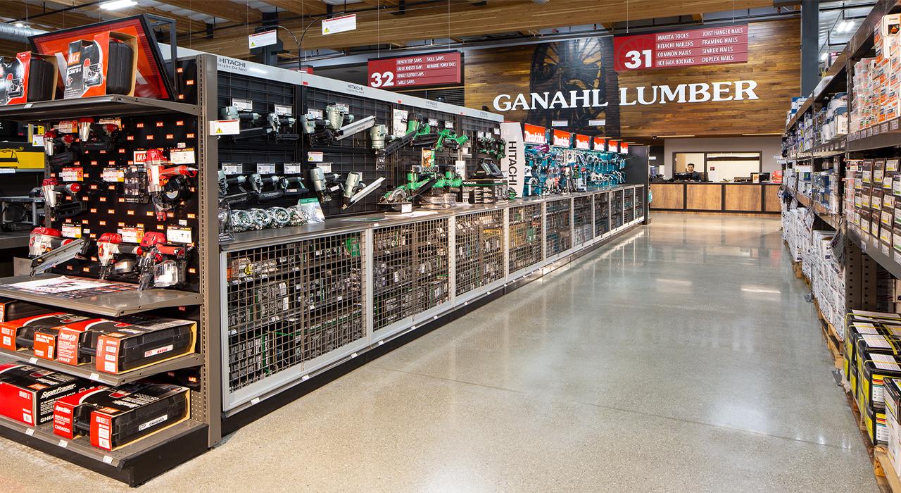 Ganahl Lumber retail store