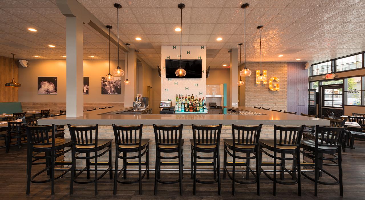 Harley Gray restaurant bar