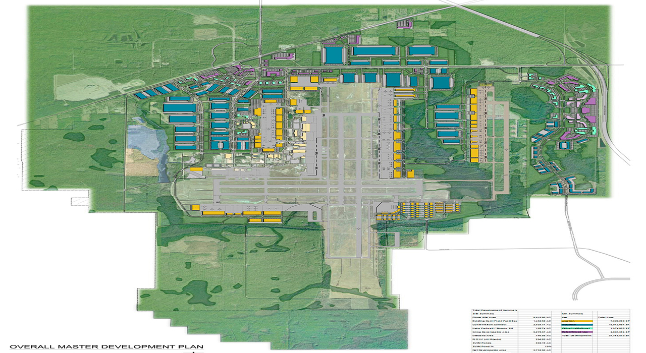 Cecil Commerce Center master plan