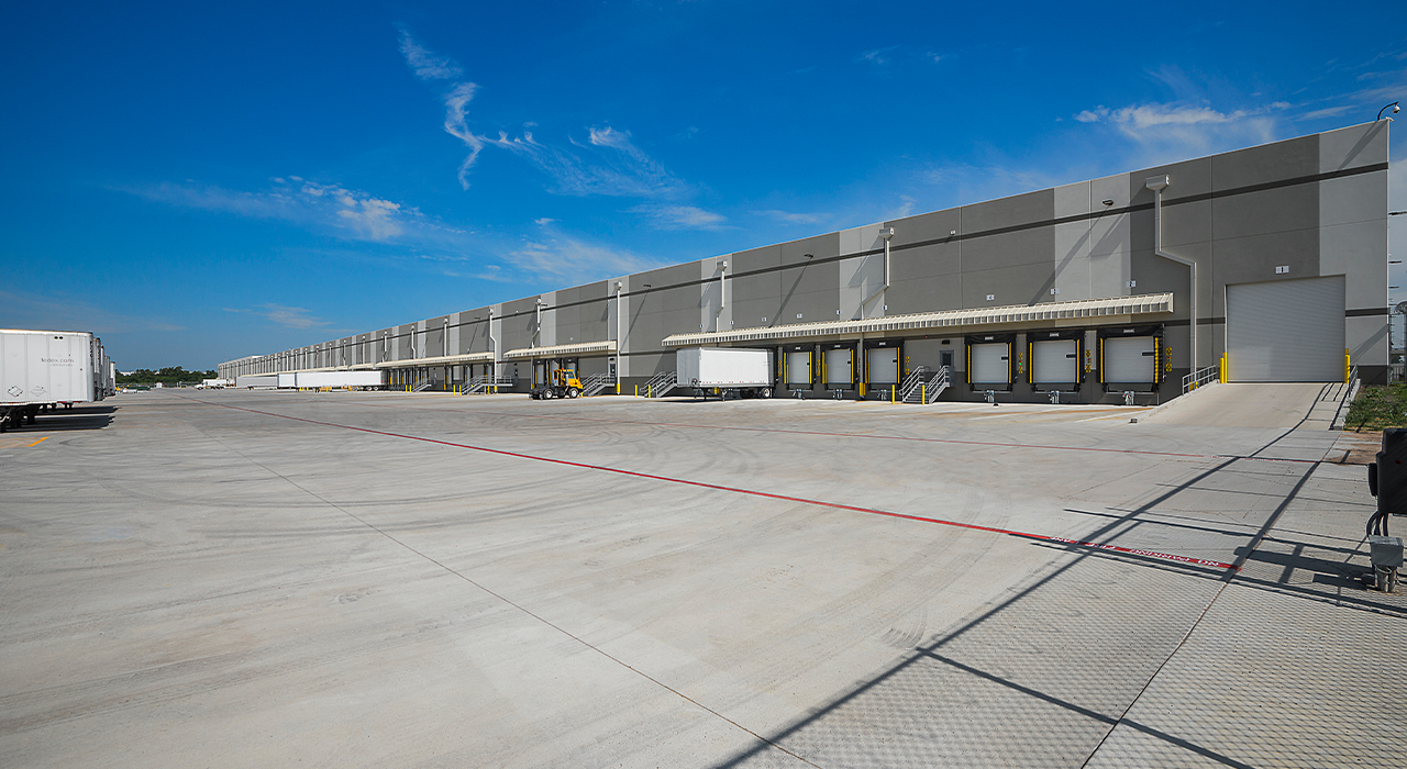 Macy's Tulsa Fulfillment Center truck bays