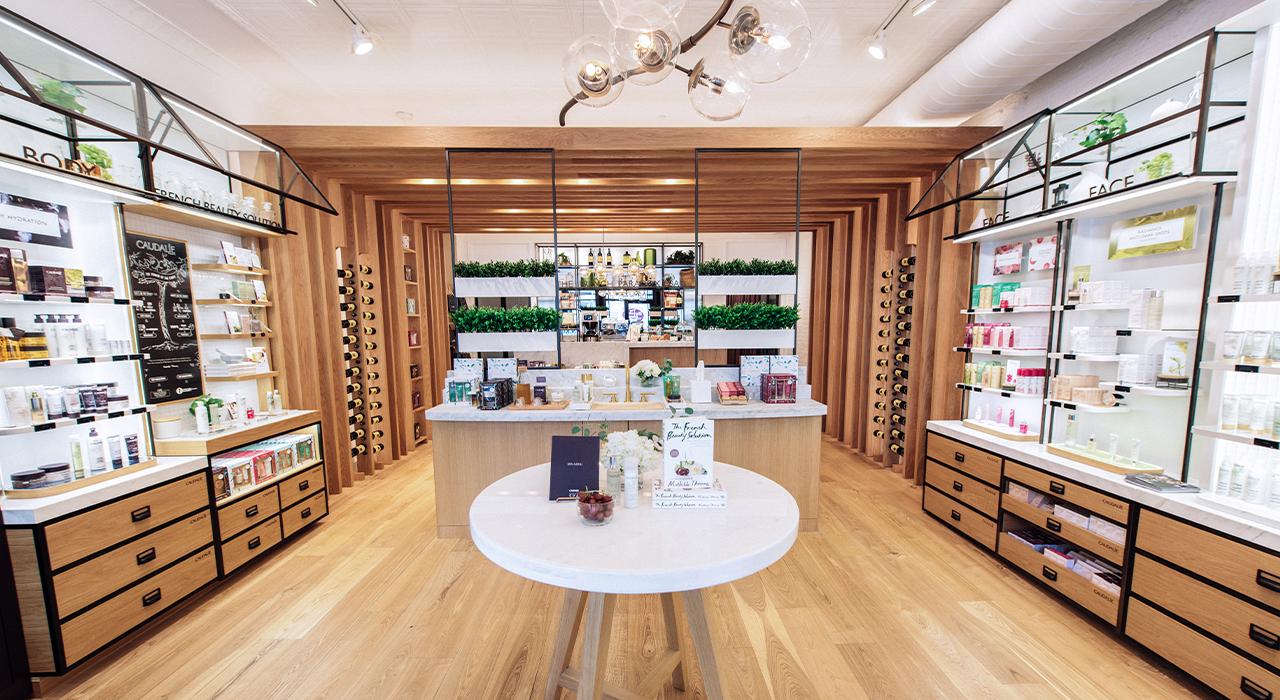 Caudalie Americas retail store