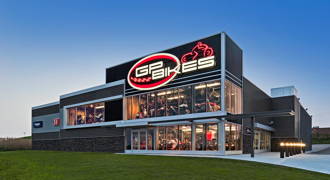 GP Bikes retail store