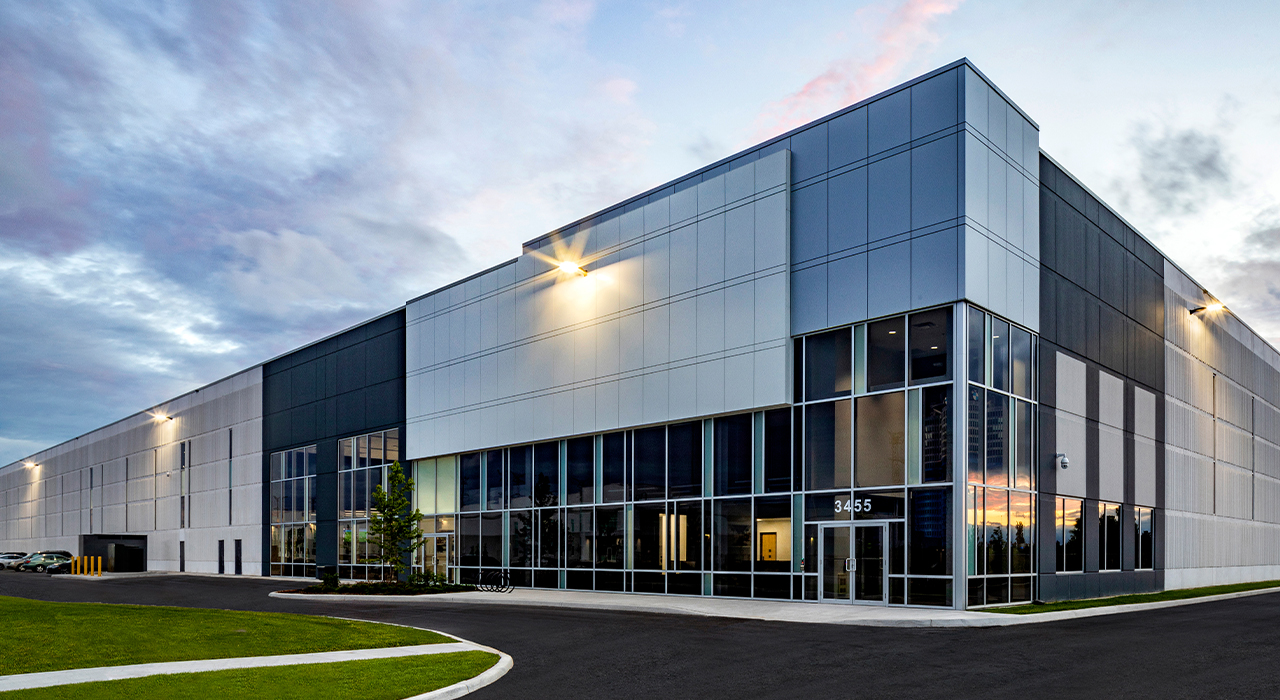 BMW Canada distribution center front