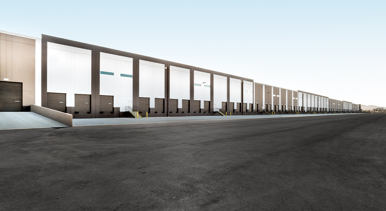 Napa logistics center truck bays