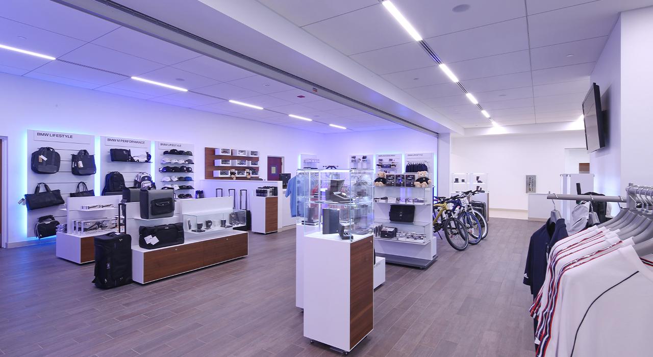 BMW gift shop