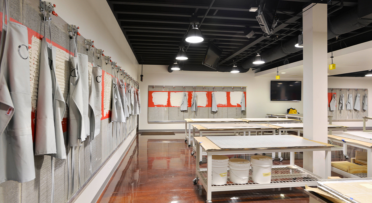 Custom Building Products manufacturing space