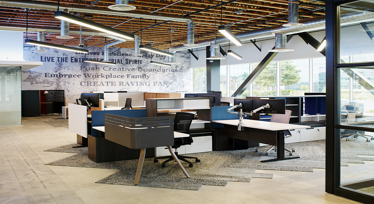 Innovative Commercial Environments open office space