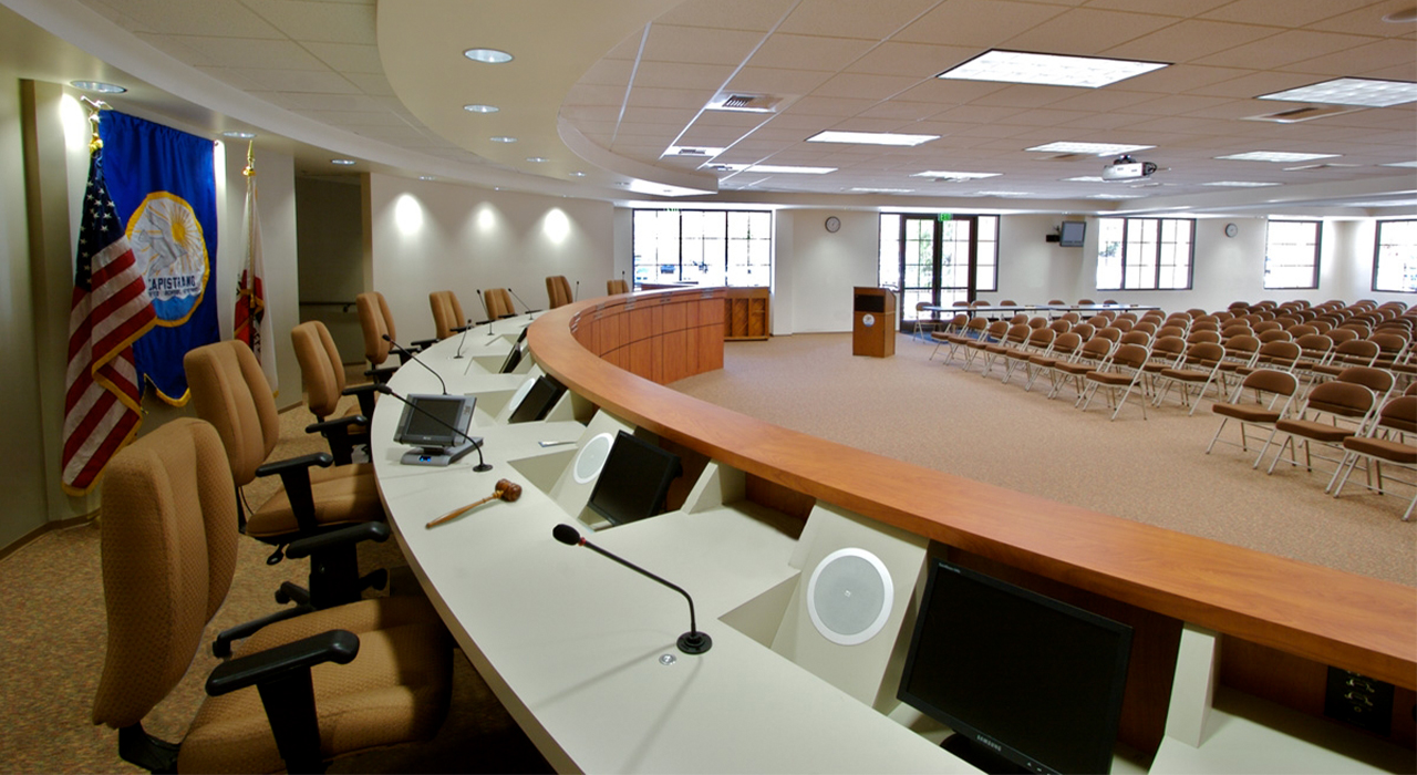 Capistrano Unified School District community room