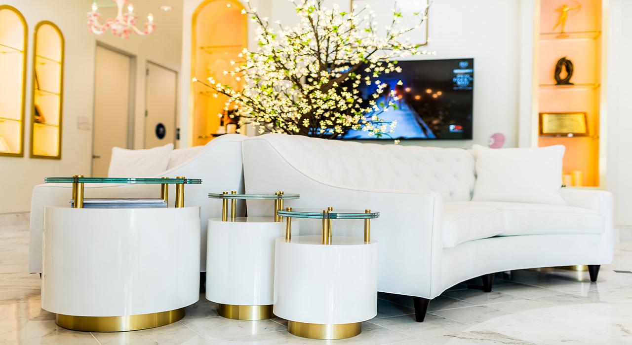 Feel Beautiful lobby