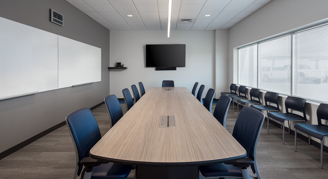 Epcor Service Facility conference room