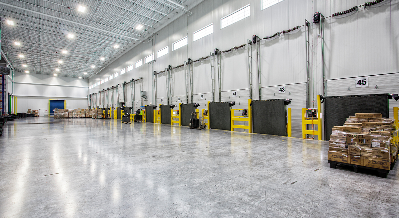 Golden State Foods loading bays