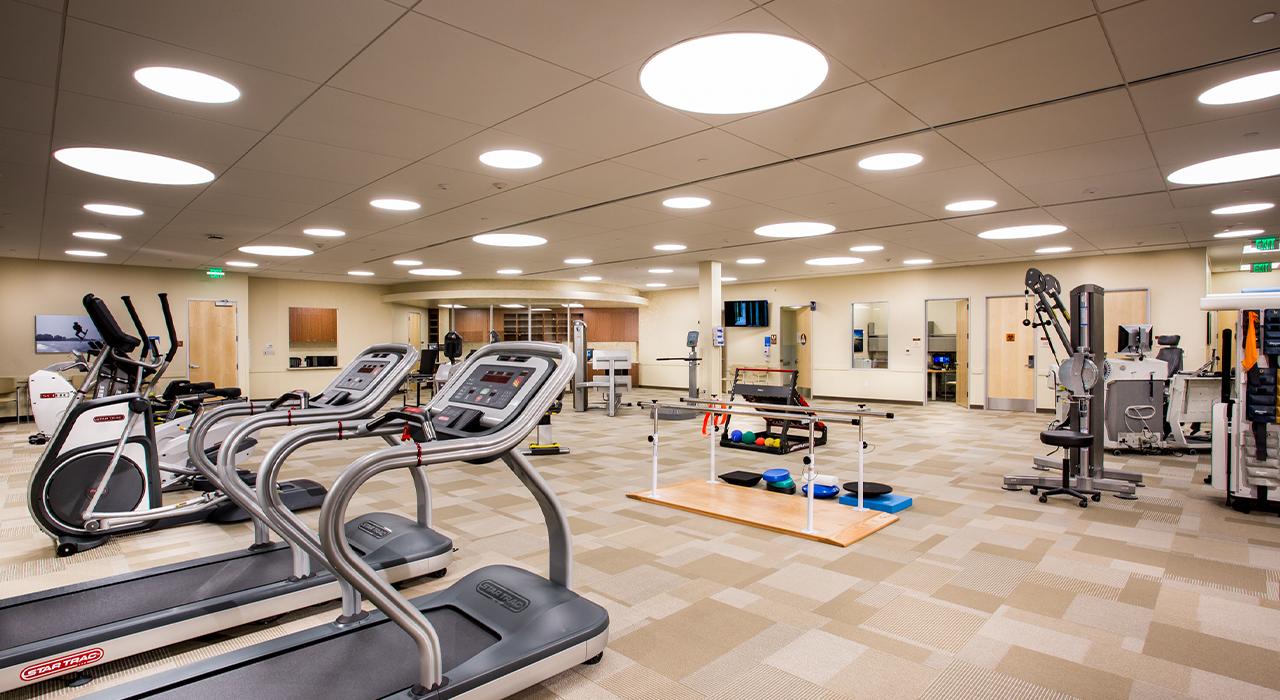 PVH La Verne Medical Offices fitness center