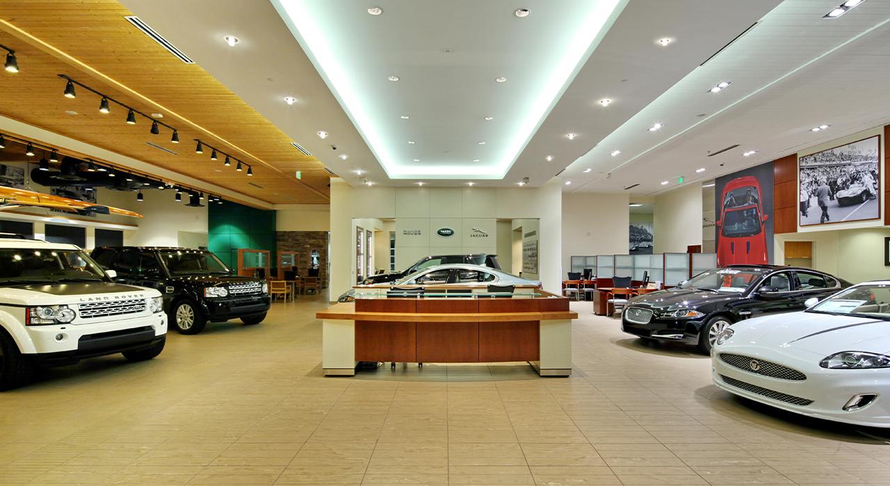 Penske Jaguar-Land Rover showroom