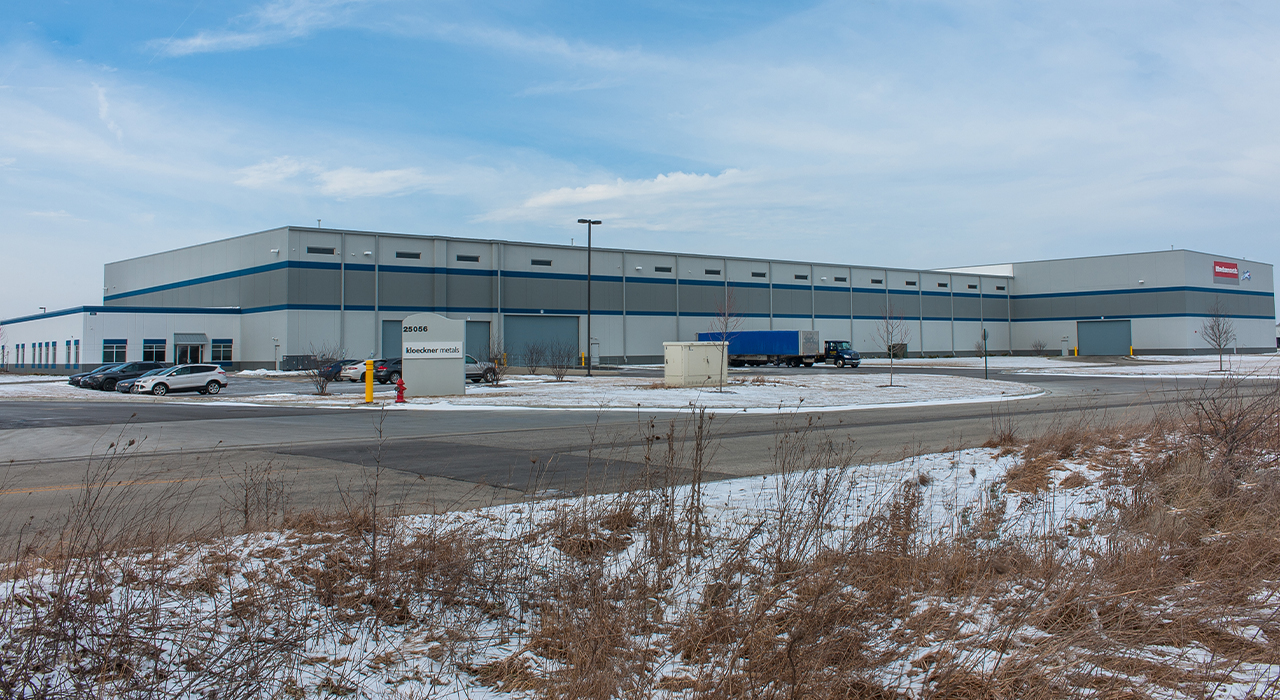 Kloeckner Metals manufacturing facility