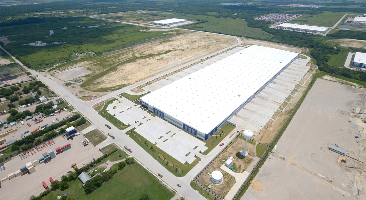 Southport Logistics Center aerial shot
