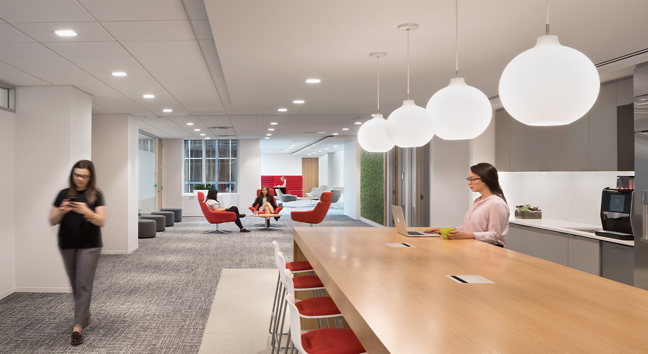 Henkel North American Consumer Products Division Headquarters break area