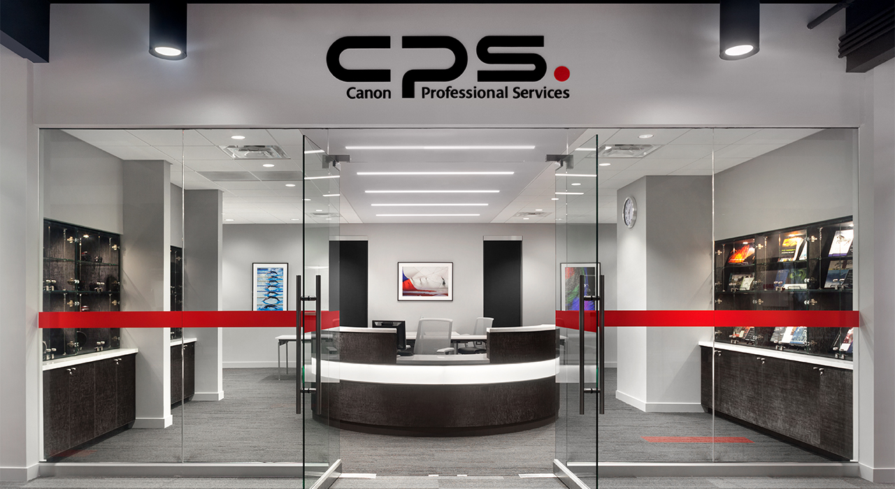 Canon Experience Center professional services area