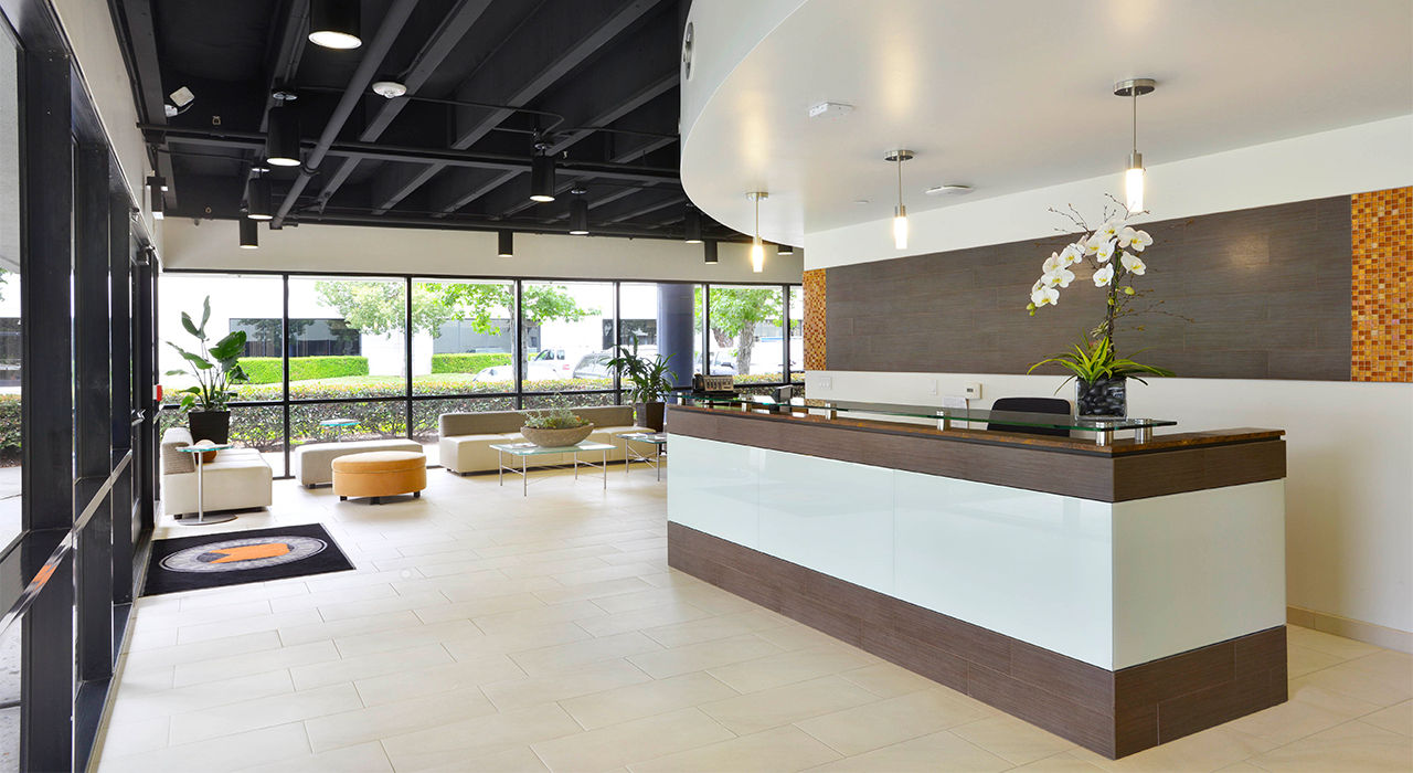Custom Building Products building reception