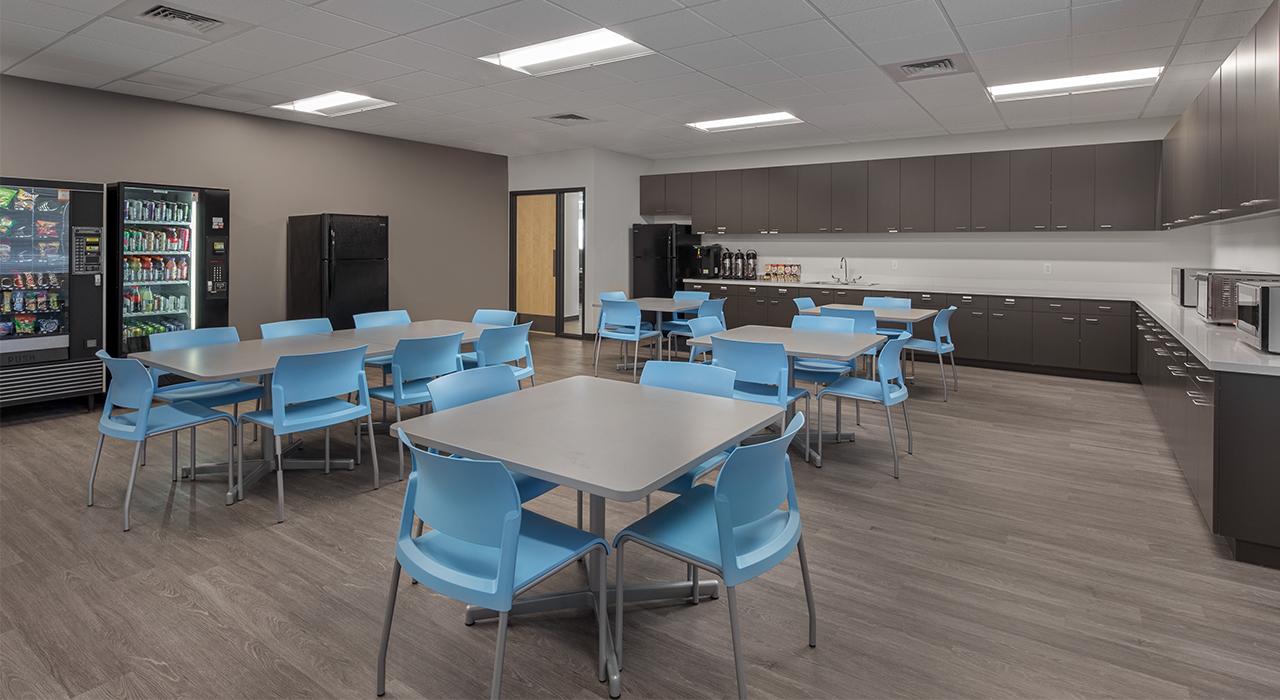 Epcor Service Facility break room