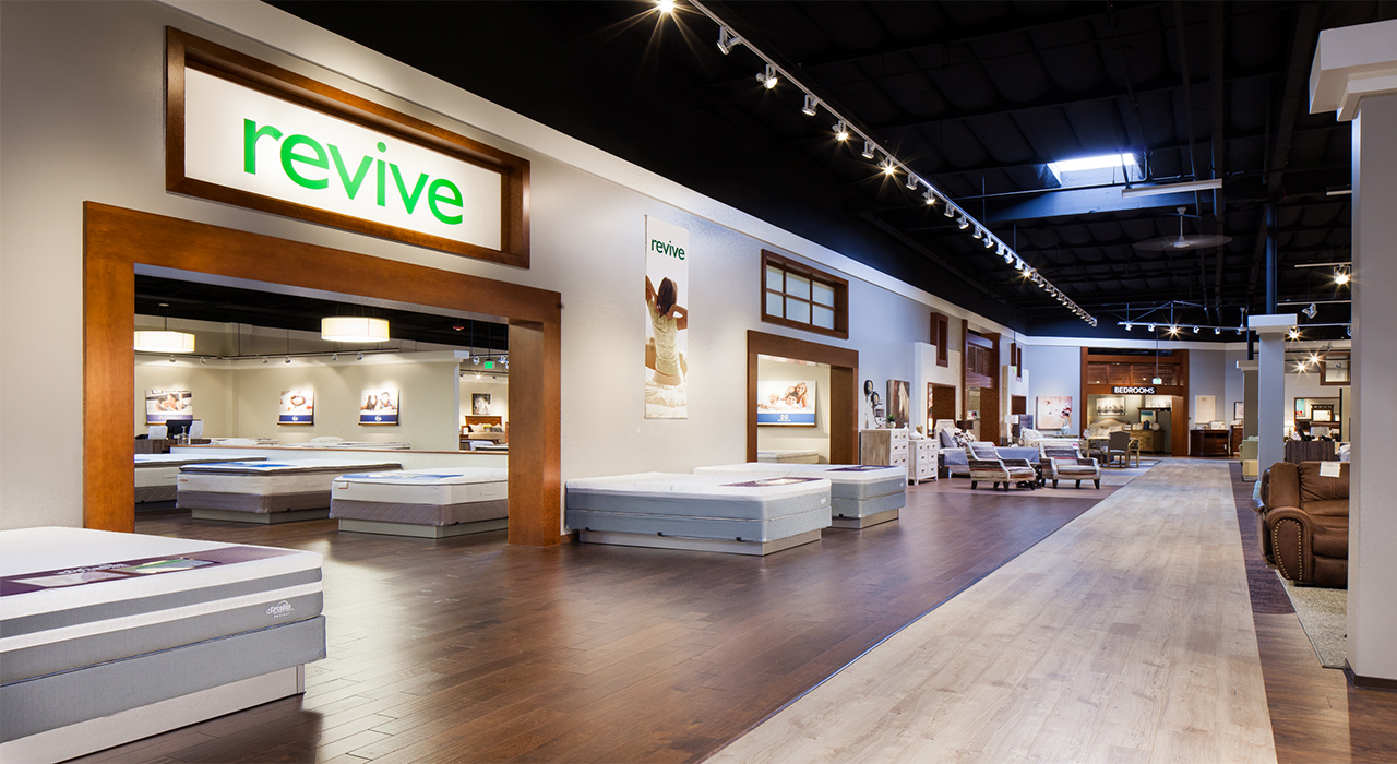 Living Spaces retail store