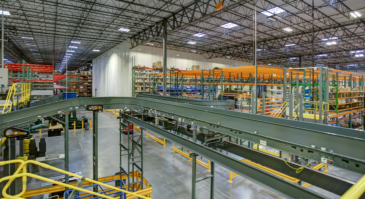 Medline warehouse facility