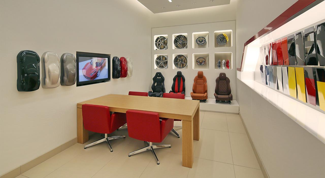 Ferrari-Maserati design room