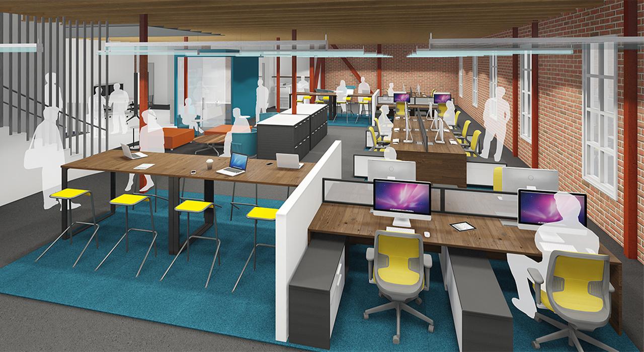 Open office rendering