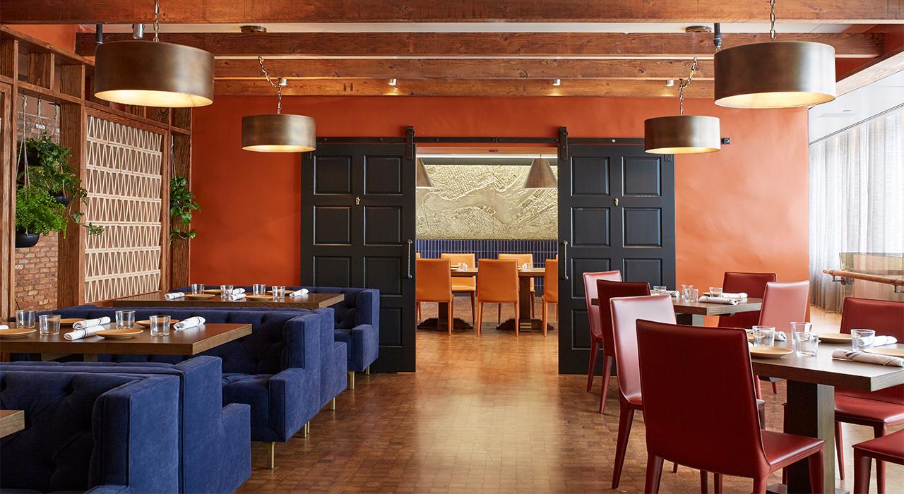 Hotel Palomar Curadero restaurant dining room