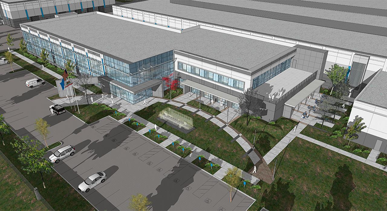 Office Building rendering