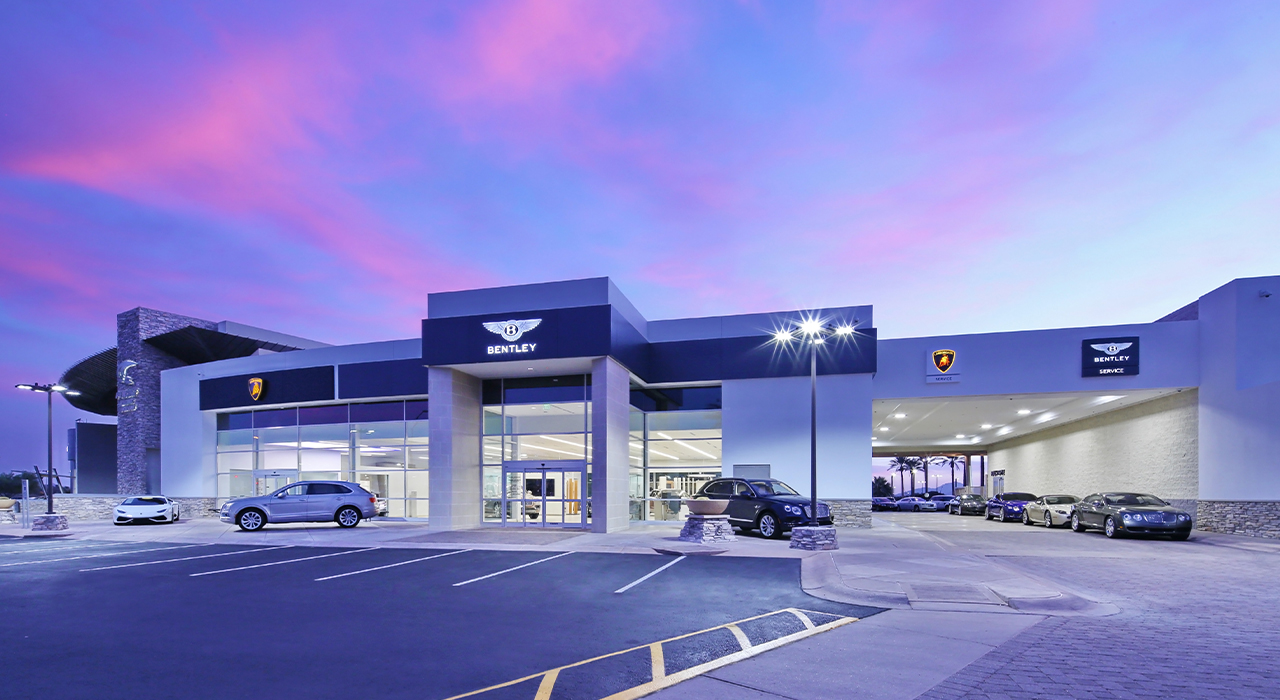 Lamborghini-Bentley dealership
