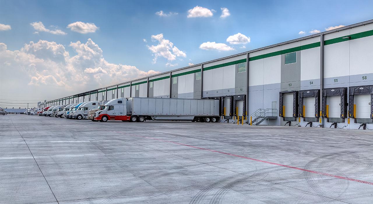 Biagi Brothers distribution facility truck bays