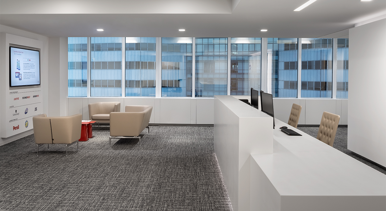 Henkel North American Consumer Products Division Headquarters building lobby