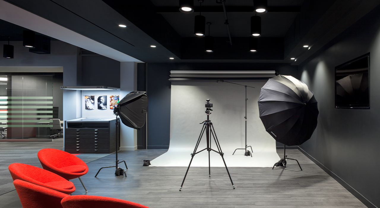 Canon Experience Center photoshoot room