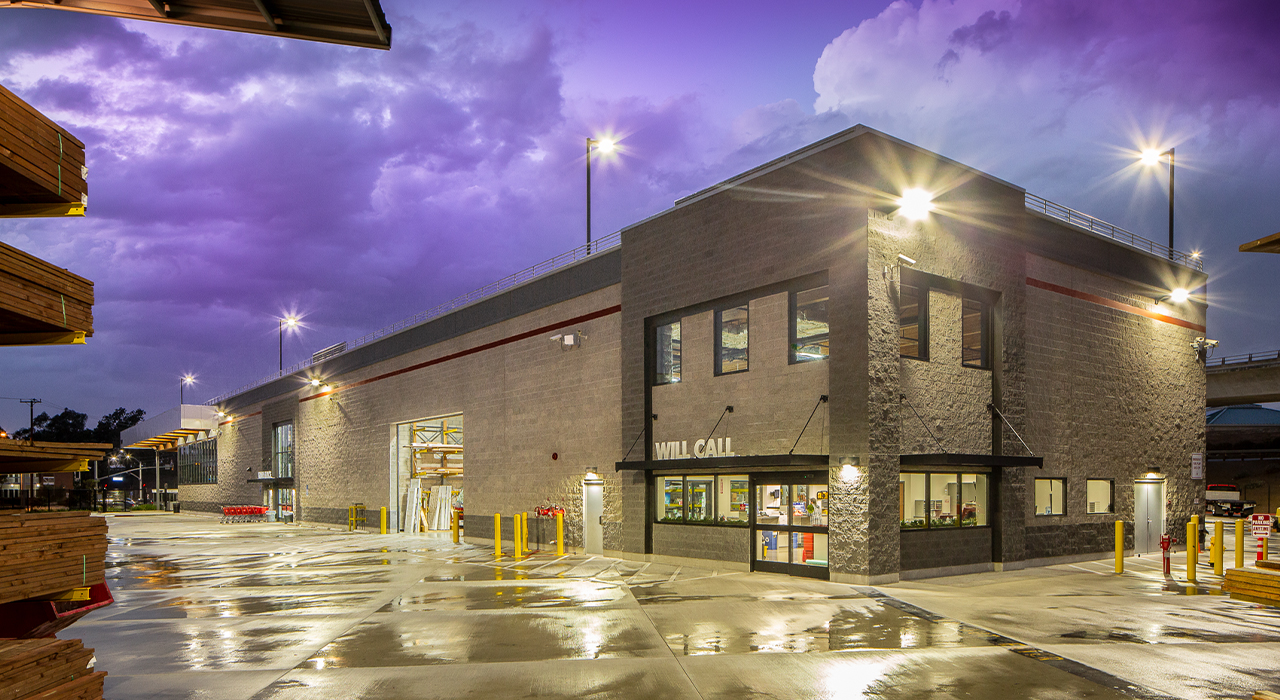 Ganahl Lumber retail store will call building