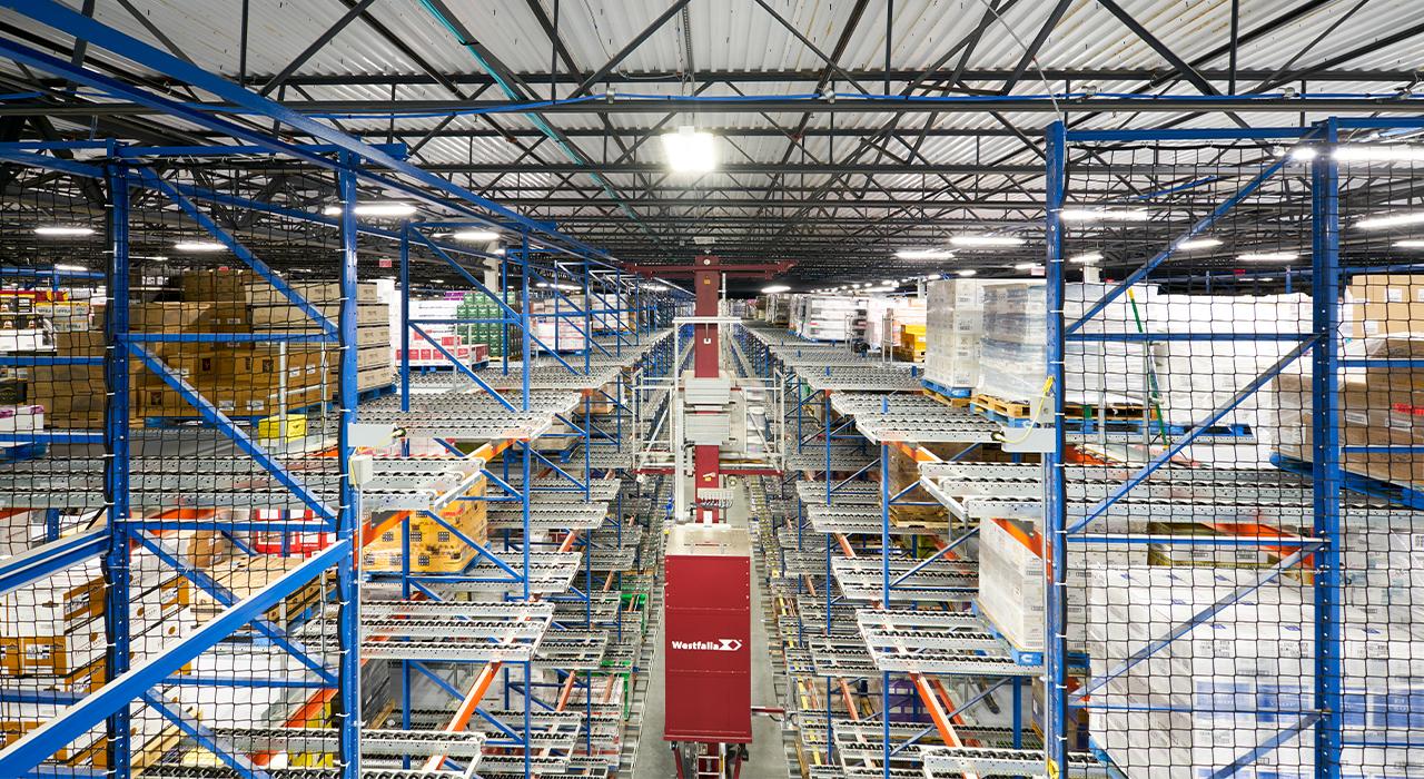 Martignetti Companies distribution warehouse