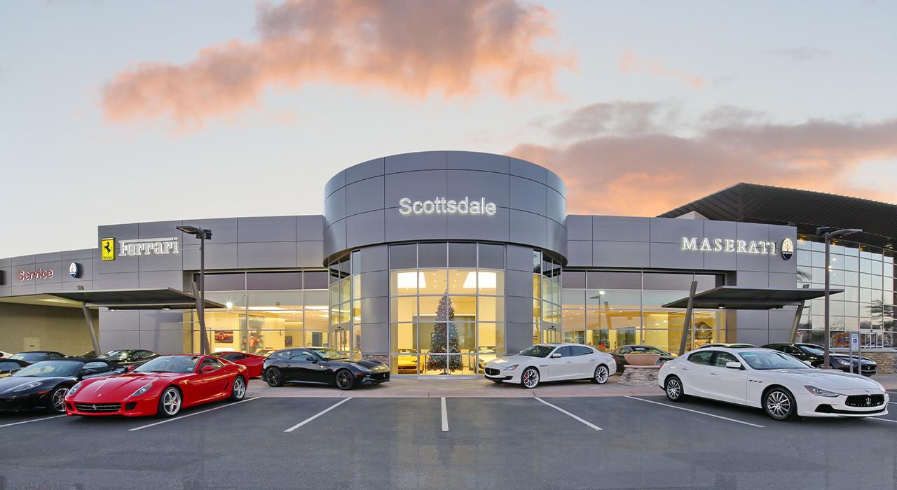 Ferrari-Maserati dealership