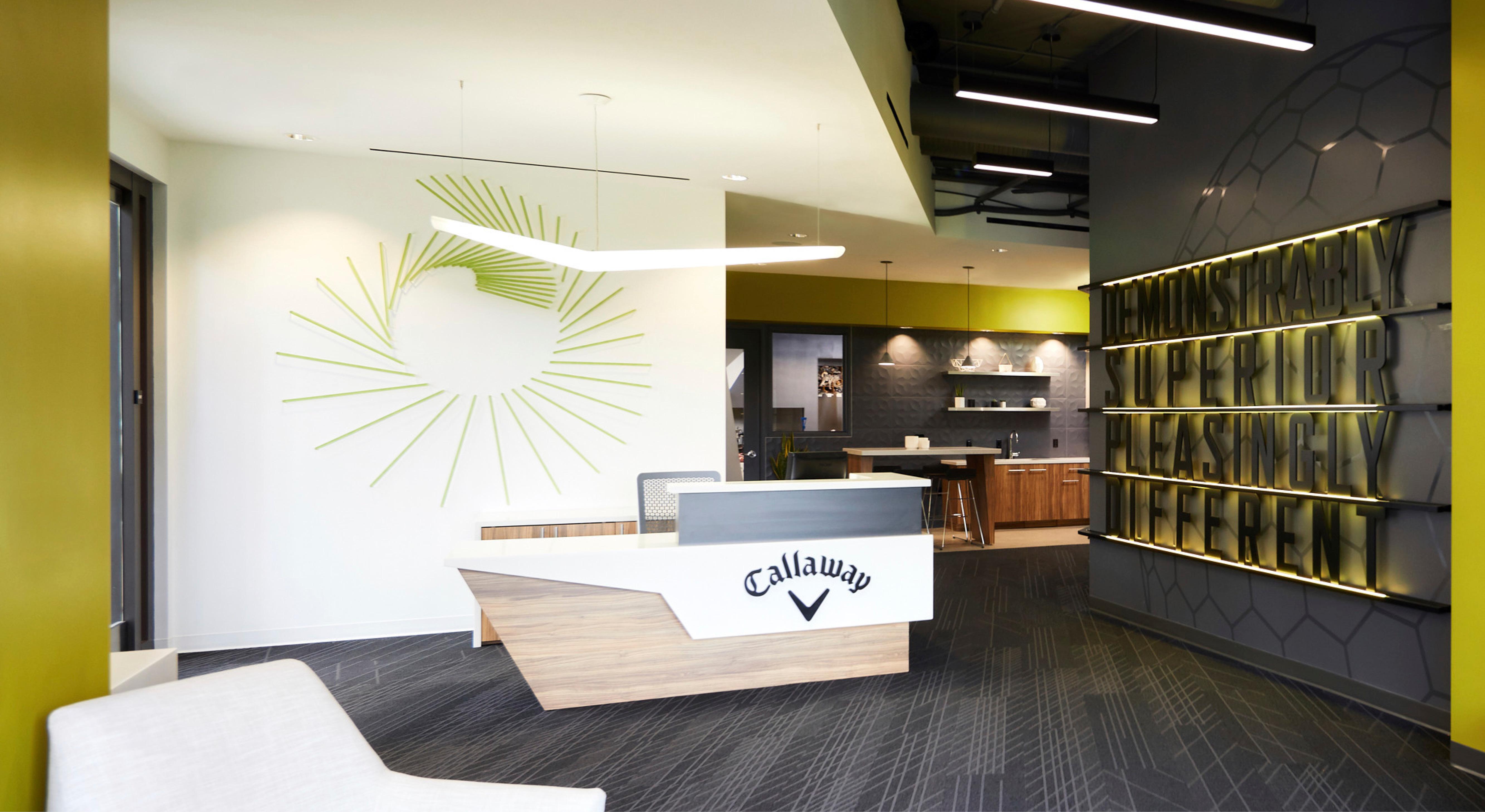 Callaway Golf Performance Center lobby