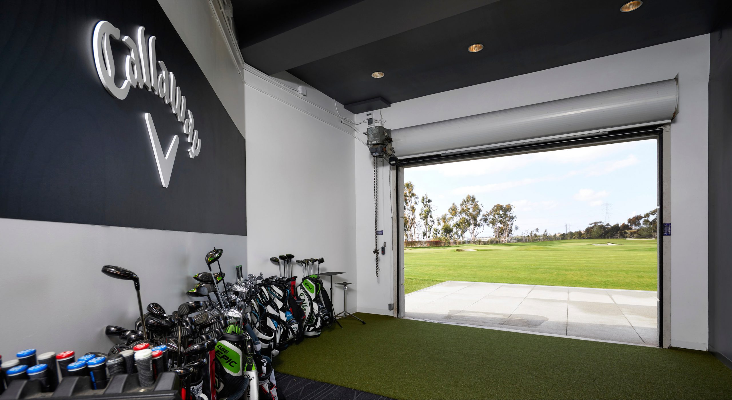 Callaway Golf Performance Center golf area
