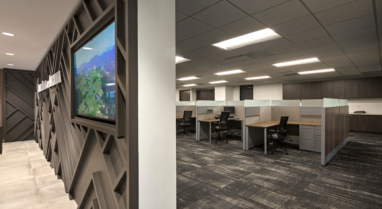 State Bank of Arizona open office space