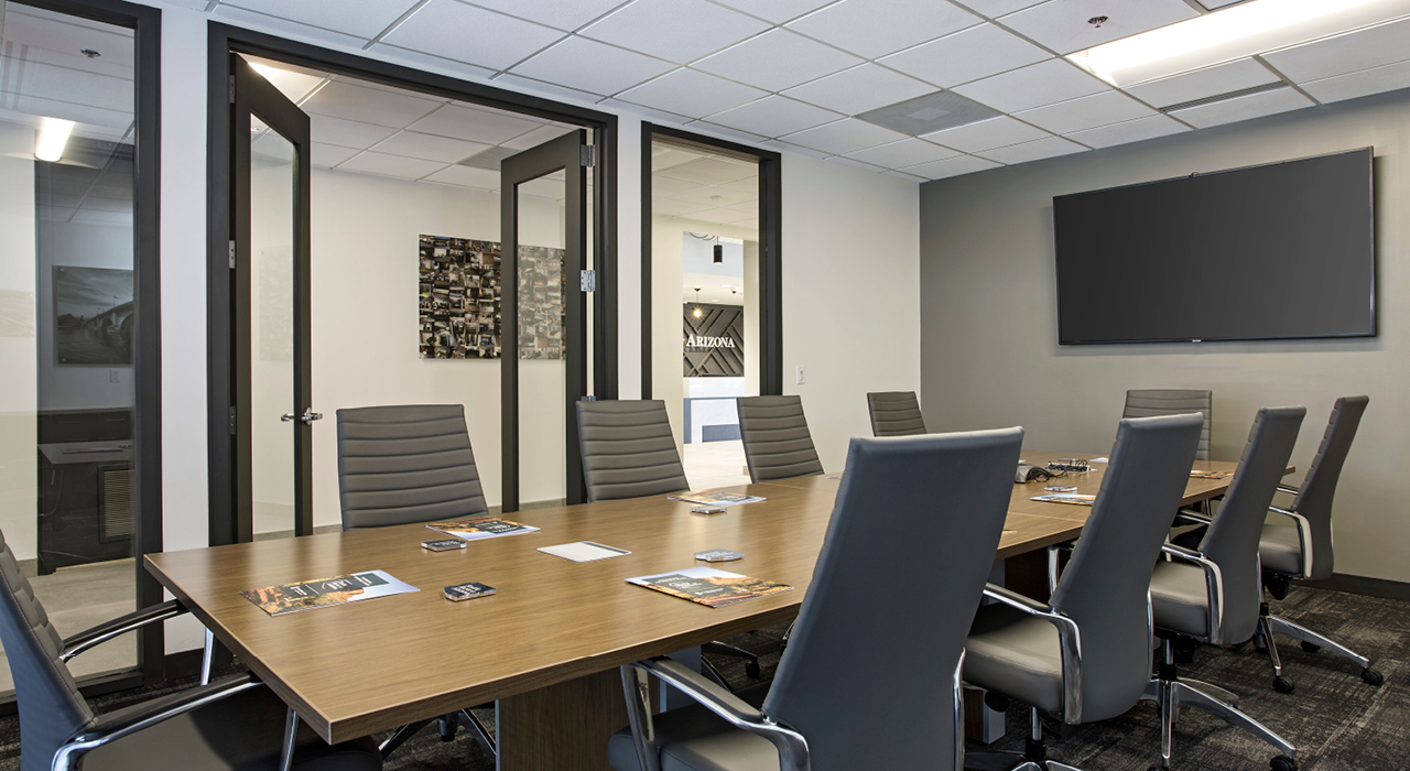 State Bank of Arizona conference room