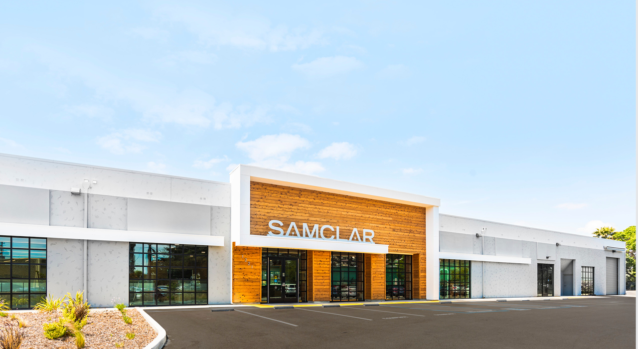 Sam Clar office and showroom