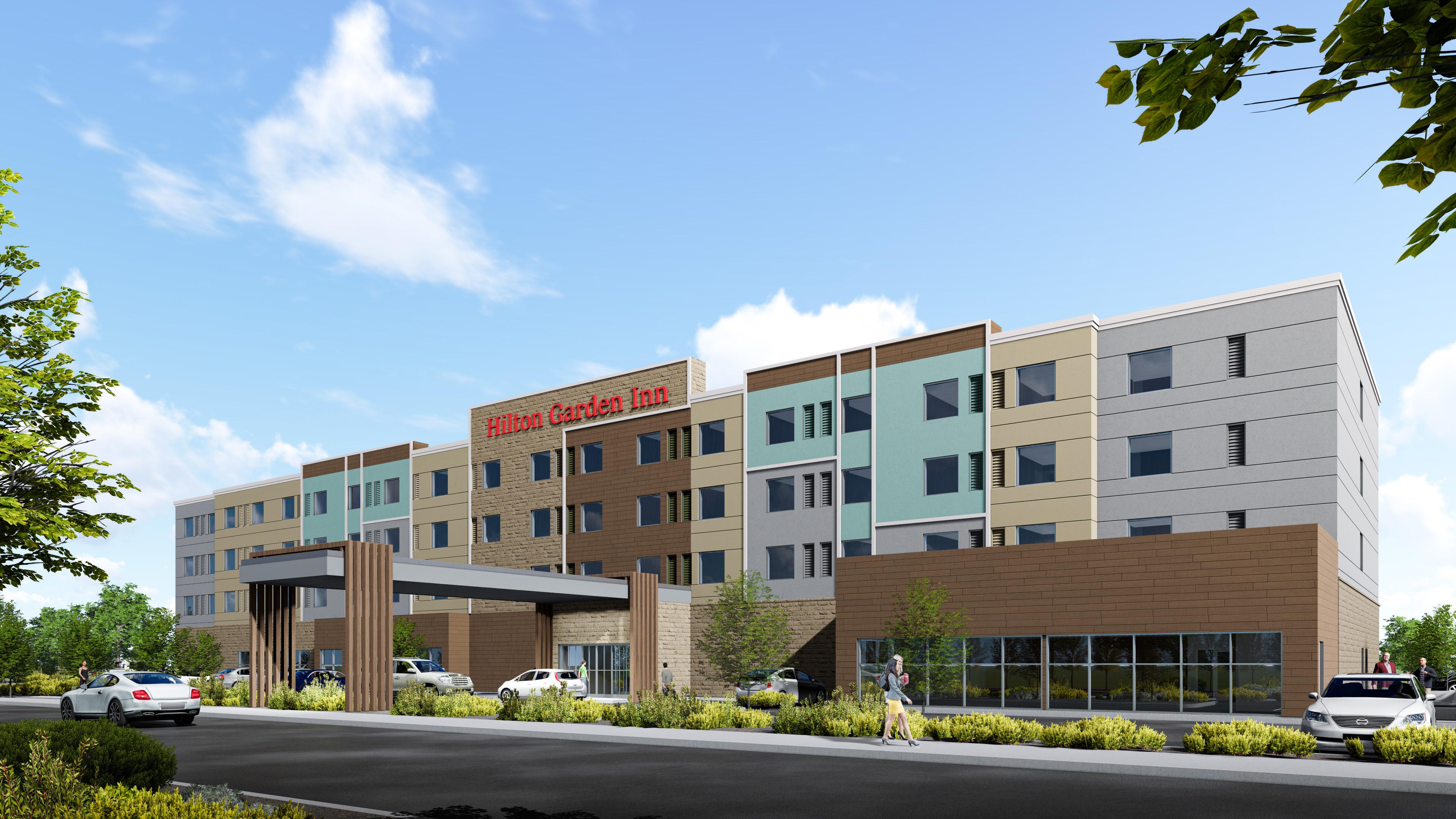 Hilton Garden Inn rendering