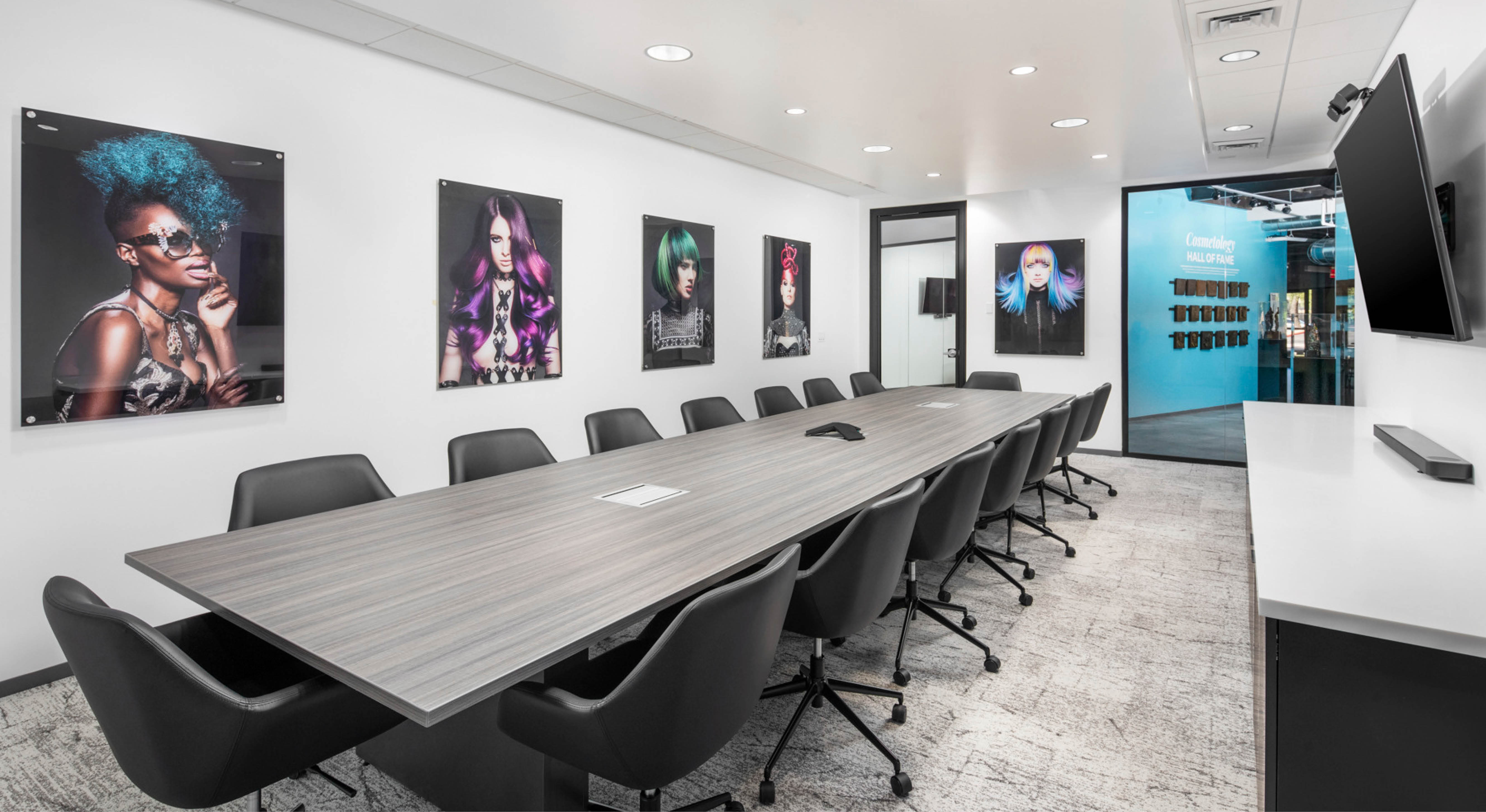 Professional Beauty Association conference room